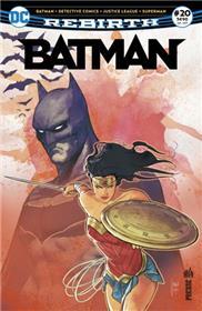 Batman Rebirth 20 Hommage à Gueule d´Argile
