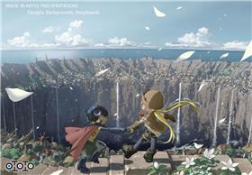 Made in Abyss Trio d'artbooks - Designs, backgrounds, storyboards...